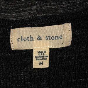 Anthropologie Dresses - NEW Anthro Cloth & Stone striped melange tee dress